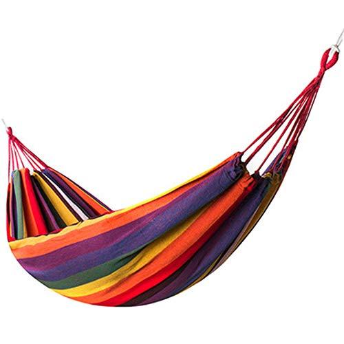 WESYY - Hängematte Outdoor, Travel, Trekking & Camping, Reise-Hängematte, Garten, Strand190*100cm - Die Brasilianische Holz-möbel