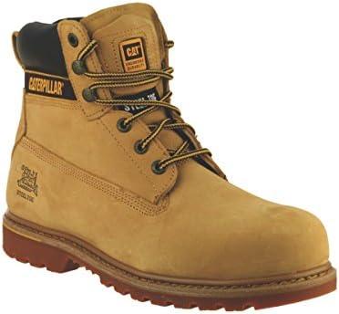 Gato Holton S3 miel tamaño 7 botas de seguridad