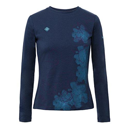 Izas Minya Camiseta, Mujer, Azul Noche, S