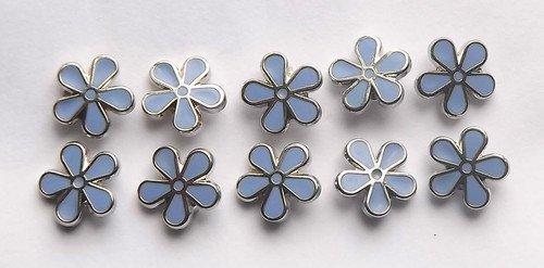 10-x-masonic-flower-forget-me-not-enamel-lapel-pin-badge