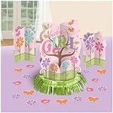 Amscan Tweet Baby Girl Table Decorative Kit