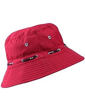 Vococal - Casquillo del Sombrero del Cubo Lona Protección Contra el Sol para Adultos Unisex