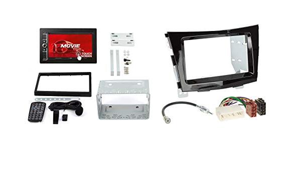Ssangyong Tivoli Ab 15 2 Din Autoradio 6 2 Touchscreen Und Einbauset In Original Plug Play Qualität