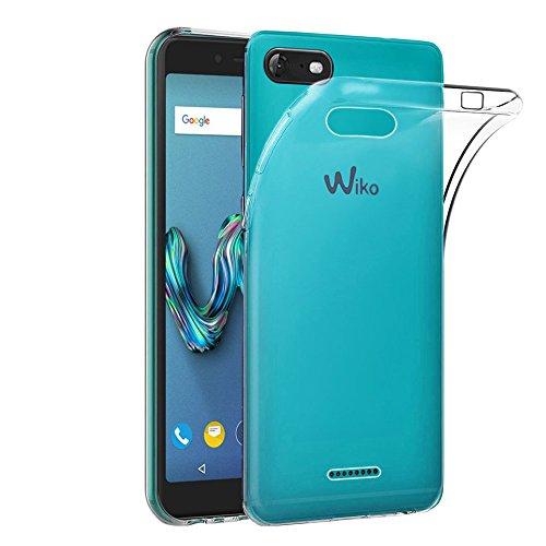 ebestStar - Wiko Tommy 3 Hülle [Phone: 146 x 71.5 x 9.1mm, 5.0''] Handyhülle [Ultra Dünn], Premium Durchsichtige Klar TPU Schutzhülle, Soft Flex Silikon, Transparent