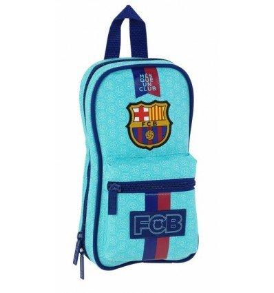 FC Barcelona 2ª Equipación – Neceser con 4 estuches, 120 x 50 x 230 mm