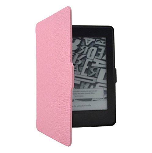 lle Smartshell Case Tasche Hülle für Kindle Paperwhite eReader 1/2/3 Rosa Case Fall Schutzhülle Leder Schutzhülle Kindle Shell Protective Case ()