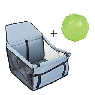SymbolLife Pet Booster Seat Lookout Car Seat, Pets Up to 30lbs With one free Glow in the dark Dog Ball Toy SymbolLife Pet Booster Seat Lookout Car Seat, Pets Up to 30lbs With one free Glow in the dark Dog Ball Toy 41DvjcyyHjL