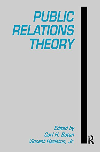 Public Relations Theory (Communications Series) (English Edition)