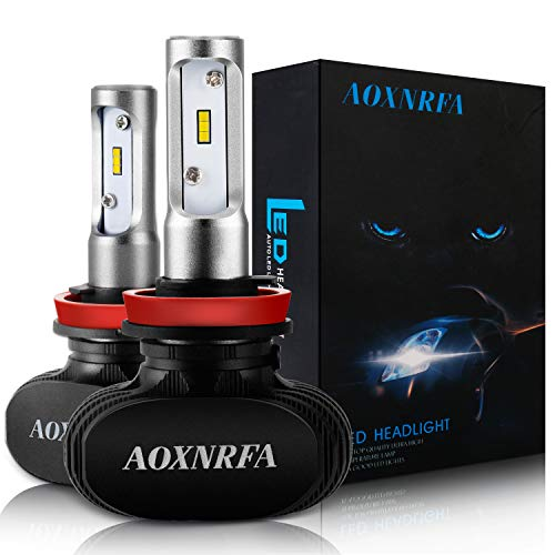 Lampadine LED faro, faro auto lampadina 50W 8000LM 6500K luce bianca con CSP chips, Direct, alogena, 9V-32V 1anno di garanzia
