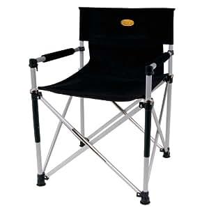 Camp 4 Faltstuhl Director's Chair Luxus, schwarz, 85 x 15 x 10