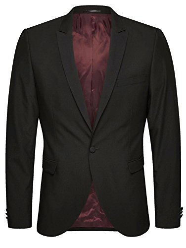 JACK & JONES PREMIUM ZACH BLAZER Black(ZH-001)