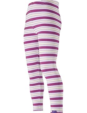 Playshoes - Leggings, Legging, lila Ringel, geringelt, Oeko-Tex Standard 100, Leggings per bambine e ragazze