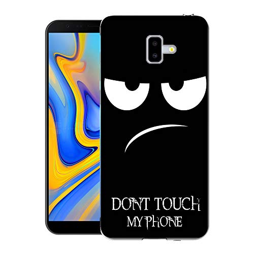 Samsung Galaxy J4+ / J4 Plus Custodia Cover, FoneExpert® Silicone Caso Molle di TPU Sottile Anti...