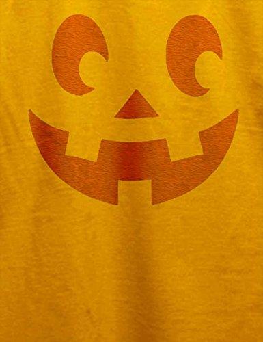 Kuerbis Face T-Shirt Gelb