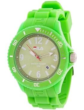 Original FILA analoge Armbanduhr Quarzuhr grün FA-1023-39