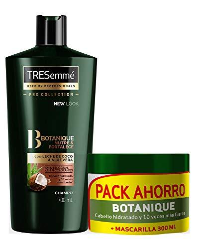 Tresemmé Botanique Pack Champú Y Mascarilla Coco