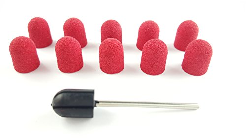 10-pcs-colour-rosa-redondo-fundas-de-lijado-cuerno-piel-removedor-120-footer-granulado-fino-diametro