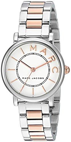 MARC JACOBS WOMEN'S ROXY TWO TONE STEEL BRACELET QUARTZ ANALOG WATCH MJ3553