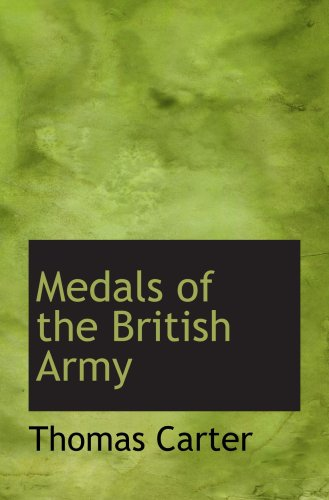 Medals of the British Army