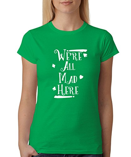 - We're All Mad - Girls T-Shirt Kelly Green, Größe ()