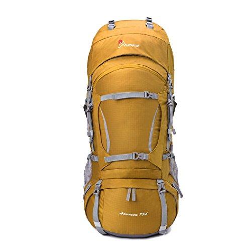 HWLXBB Borsa per alpinismo all'aperto Uomini e donne 80L Borsa per alpinismo multifunzione impermeabile Escursioni alpinismo Zainetto per il tempo libero all'alpinismo zaino ( Colore : 6* ) 7*