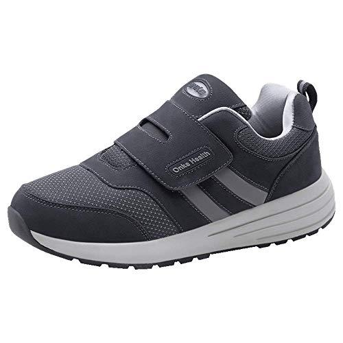 Monrinda Herren Damen Running Sneakers leichte Klett Turnschuhe Outdoor-Jogging Sportschuhe atmungsaktive Bequeme Laufschuhe Casual Walking Trainers