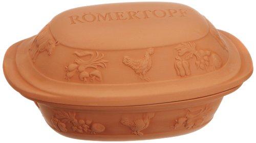 Römertopf Bräter Rustico Keramik...