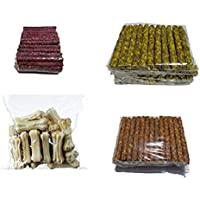 Delicacy Pet Food & Supplies Dog Food Munchy Sticks Chicken (500G), Munchy Sticks Mutton (500G), Munchy Sticks Natural…