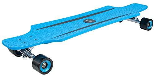 HUDORA ABEC 7 Longboard Cruise Star, Skateboard, blau
