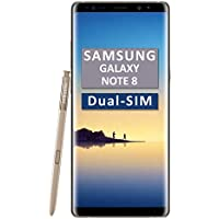 Samsung Galaxy Note 8 SM-N950F/DS Dual-SIM 64GB Factory Unlocked 4G/LTE Smartphone (Maple Gold)