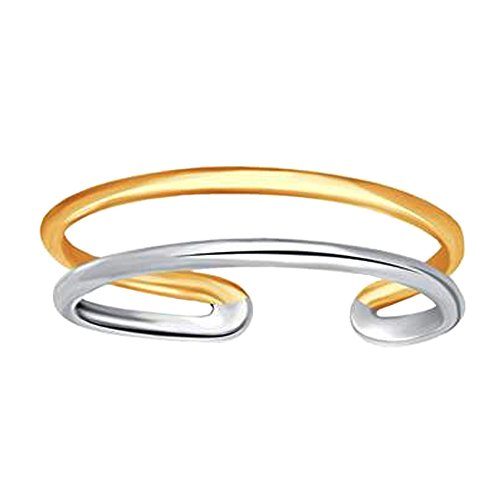 14k-white-and-yellow-gold-double-bar-cuff-style-adjustable-toe-ring