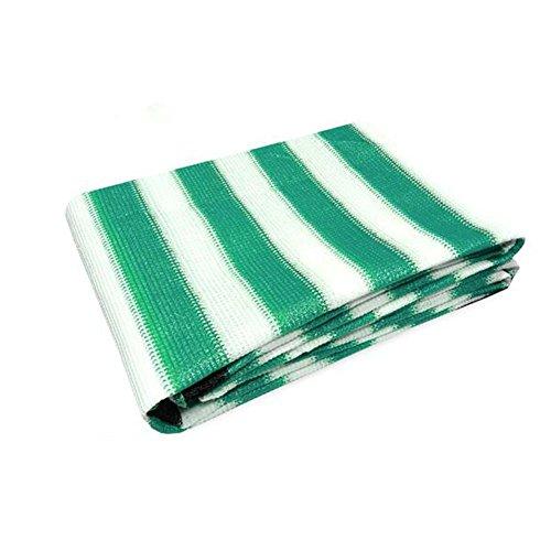 Awnings auvents Xiaoyan Abat-Jour en Tissu ombrage 90% Anti-UV pour Les activités de l'extérieur et personnalisée, Vert/Blanc, 2 * 1.8m