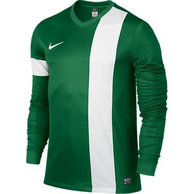 Nike White in maniche Green lunghe a Striker III Pine multicolore Jersey qpqHwagx1