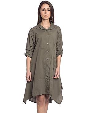 [Sponsorizzato]Abbino IG008 Vestiti Donne Ragazze - Made in Italy - Multiplo Colori - Mezza Stagione Primavera Estate Autunno...