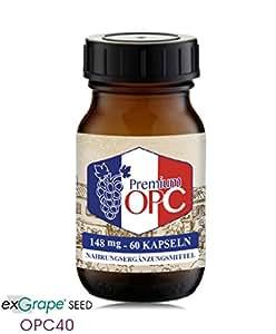 Premium OPC Kapseln 148 mg reines französisches OPC pro Kapsel - 60 Kapseln