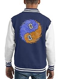 Squidism Splatoon Kid's Varsity Jacket