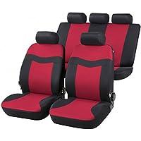 RMG r02it102Asientos COMPATIBLES para KA fundas coche R02rojos grises para asientos con airbag braciolo y asientos sdoppiabili