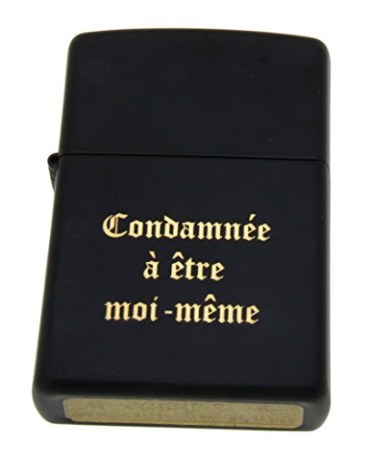 Original Feuerzeug Zippo schwarz mit Ihrer persönlichen Wunschgravur