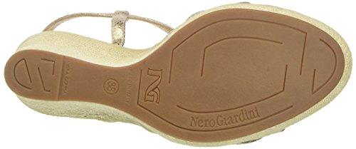 Nero Giardini P717622d, Sandali con Tacco Donna Oro (415)