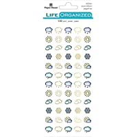 PAPER HOUSE PRODUCTIONS FUNCTNL PLNR Sticker, Weather Icon, One Size