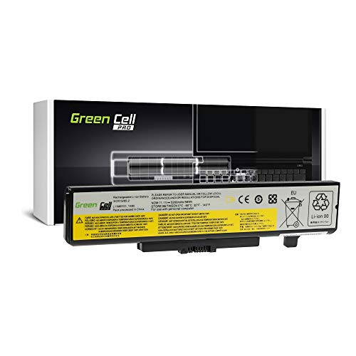 Green Cell® Laptop Akku für Lenovo B580 B590 IdeaPad N580 P580 P585 Y580 Z580 (PRO - Samsung Zellen 5200 mAh)