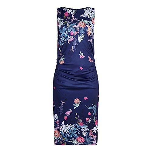 Yumi Womens/Ladies Kew Garden Slinky Sateen Dress