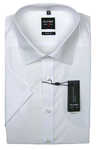 Level Five Body Fit - Short Sleeve Men\'s Shirt white 42 EU