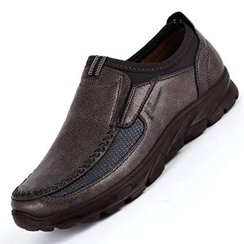 Scarpe da Uomo Comfort Fannulloni Piatti Fatti A Mano Scarpe da Barca di Moda Maschile Sneakers da Corsa All'Aperto Scarpe Sportive Leggere