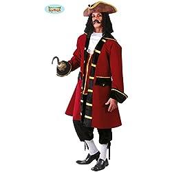 Traje de capitán pirata para hombre.