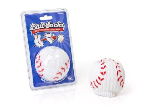 Suck UK Sports Baseball Socken (weiß)