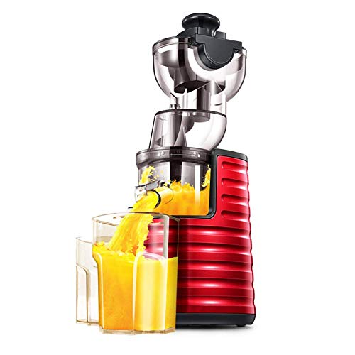 Juicer Maschine Professionelle Whole Frucht-Gemüse-Extractor Entsafter, Langsam Kauen Entsafter, 3-in-1 Cold Press Juicer, Geeignet für Obst, Gemüse, Babynahrung und Smoothies, leicht zu reinigen, -