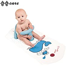 BBCare Asiento de Baño y Alfombrilla Extra Grande con Indicador de Agua Caliente Antideslizante Seguro para Bebés