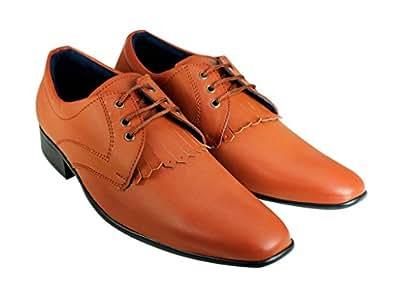 Beonza Men Premium Tassels Designer Formal Shoes-10-BZPFL006-FORMALTASSEL_10