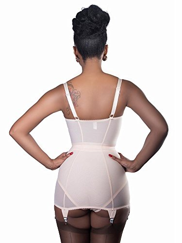 What Katie Did Corselette Firm Control Vintage Glamour Corselette Pfirsich